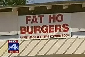 Texas Resident Opens 'Fat Ho Burgers' Joint [VIDEO]