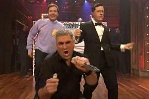 Stephen Colbert, Jimmy Fallon Sing Rebecca Black's Friday [VIDEO]