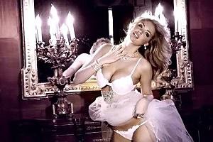 Kate Upton Models Bridal Bikini
