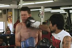 Watch Daniel Tosh Get Punched in the Jaw By Manny Pacquiao