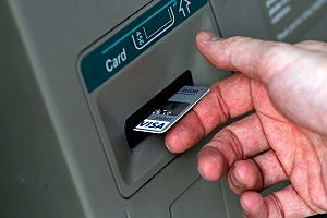 Woman Gets Hand Stuck in ATM
