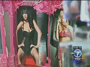 Man Breaks Into Sex Shop, Attempts Relations With Blow-Up Doll [VIDEO]