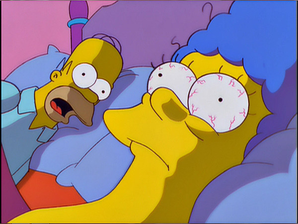 D oh looks like there s trouble ahead for springfield s - Les simpson nue ...