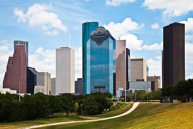Downtown Houston Texas Cityscape Skyline